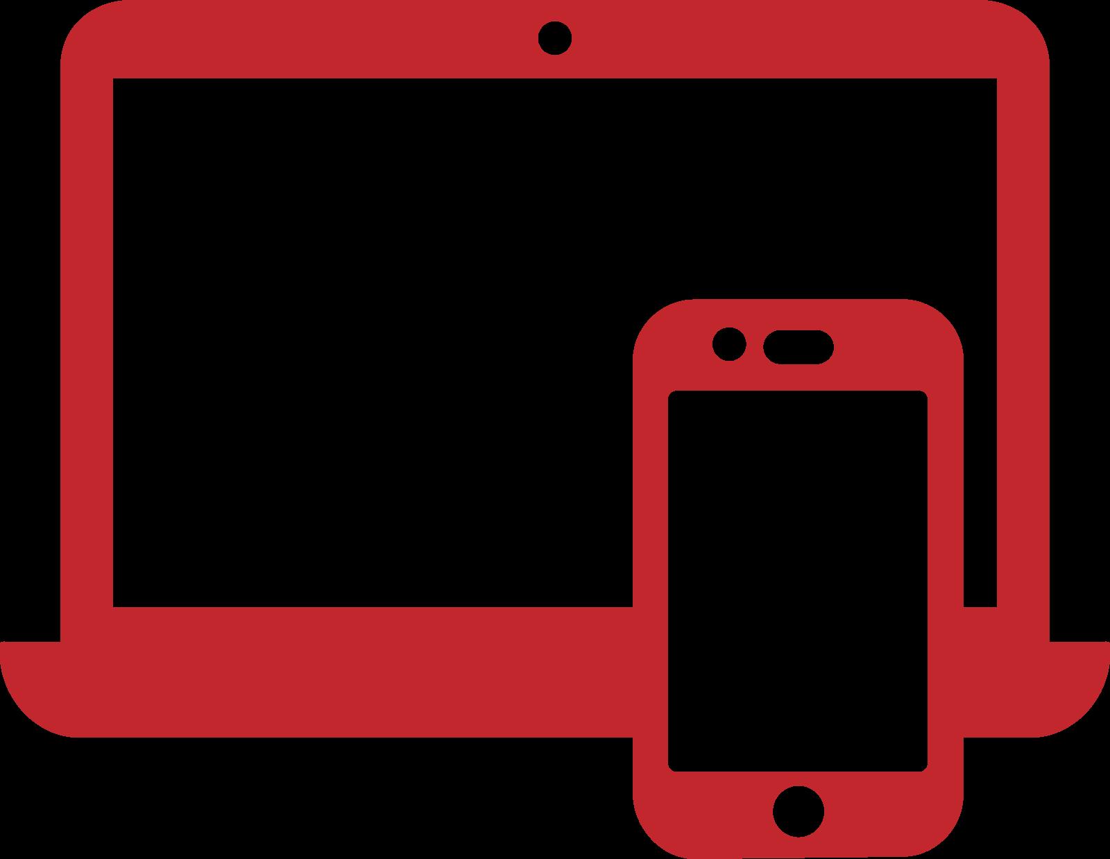 icone rouge de design packaging